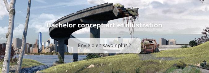 Le métier de concept artist vous intéresse ?